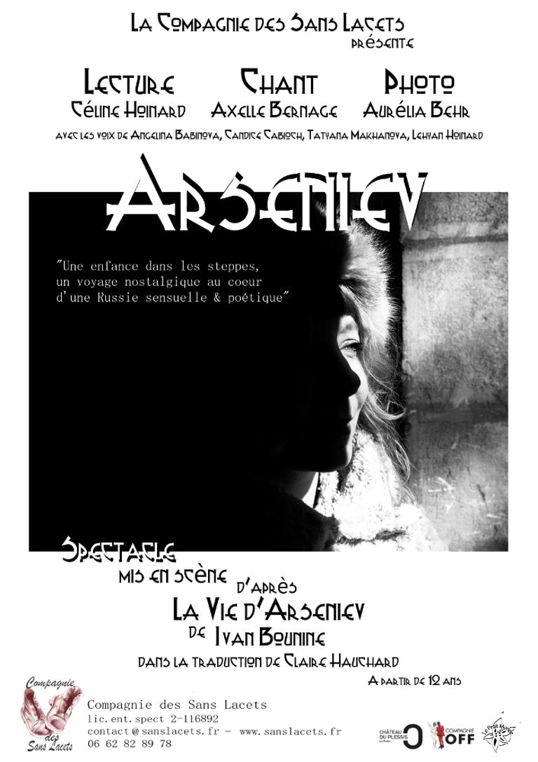 ARSENIEV affiche A4 pour envoi