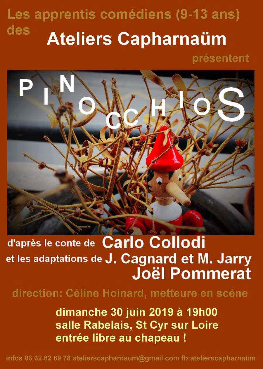 Affiche A4 Pinocchios