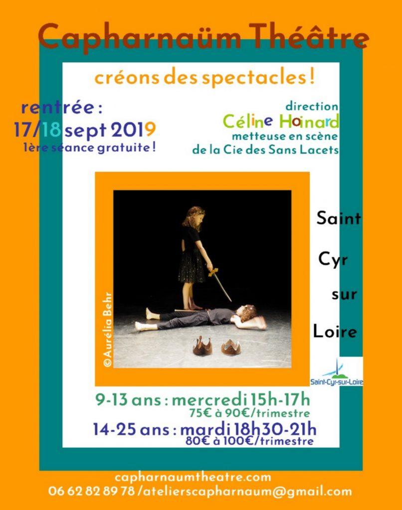 Capharnaum Theatre flyer recto 19-20